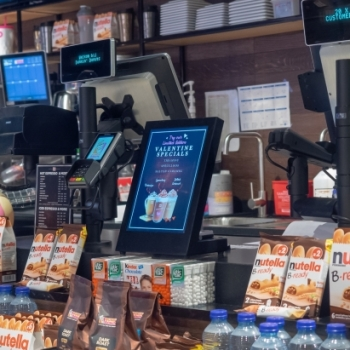 Geur 'International roast coffee' bij Dunkin Donuts
